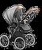 Класична коляска 2 в 1 Jedo Bartatina R14 V25, фото 2