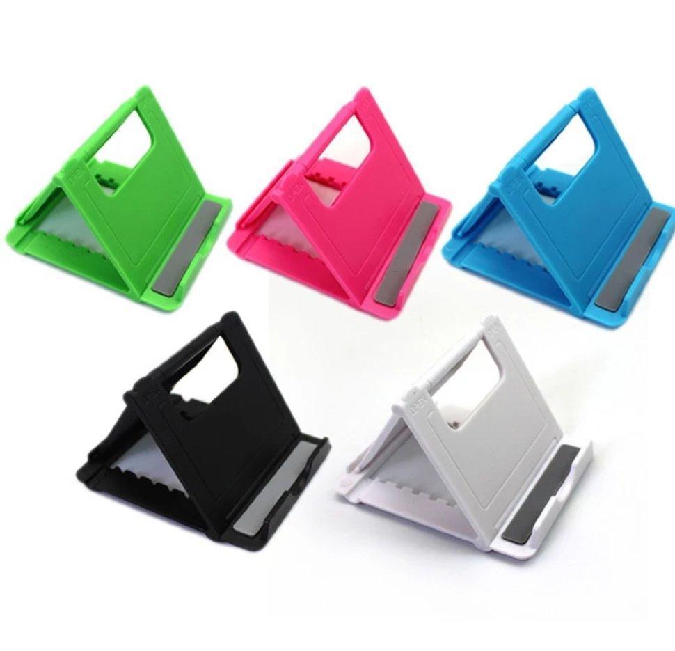 Универсальная подставка для телефона, смартфона, планшета FoldStand Черный