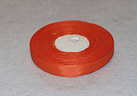 Лента репсовая оранжевая 1,2 см 16752, фото 1