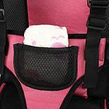 Детское бескаркасное автокресло универсальное VJT NY-26 от 9 до 25 кг, фото 6