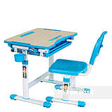 Детская парта и стульчик для дома FunDesk Bambino Blue, фото 2