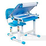 Детская парта и стульчик для дома FunDesk Bambino Blue, фото 8