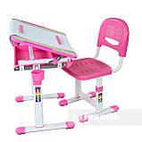 Детская парта растишка и стульчик FunDesk Bambino Pink, фото 6