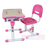 Детская парта растишка и стульчик FunDesk Bambino Pink, фото 7