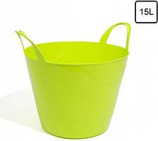 Емкость Prosperplast мультифункциональная гибкая 15 л зеленая