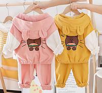 Дитячі весняні та осінні костюми для дівчинки / Детские весенние и осенние костюмы для девочки