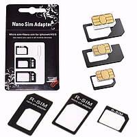 Адаптер для SIM-карт Nano SIM Micro SIM Card Переходник