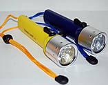 Ліхтарик BL PF02 Bailong Підводний Ліхтар для Дайвінгу, фото 2