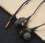 Двухдрайверные Навушники Hi-Fi SUPER BASS Гарнітура 4 Динаміка Подвійний Драйвер, фото 3