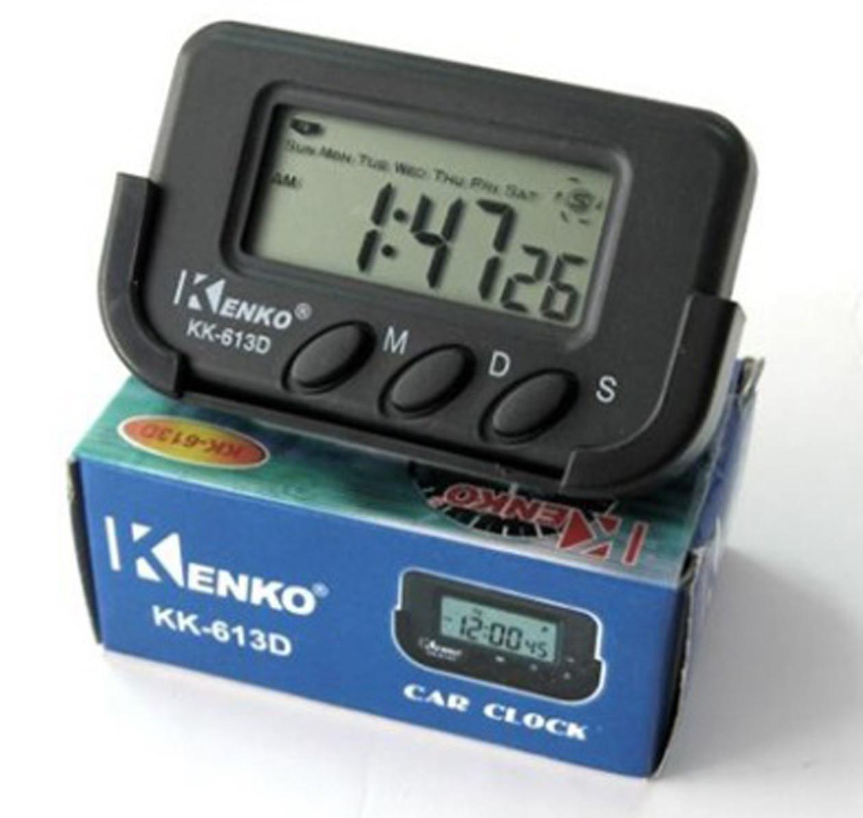 Часы KK-613D Будильник + Секундомер + Календарь + Держатель