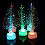 Волоконно-Оптична Новорічна Ялинка Mini LED Різдвяна Різнокольорова, фото 2