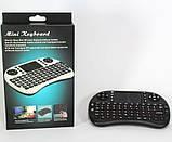 Беспроводная Мини Клавиатура Rii mini i8 + Аккумулятор, фото 2