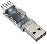 Переходник USB-COM RS232 PL2303HX Адаптер USB-UART USB-TTL конвертер, фото 2