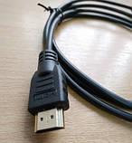 Кабель Micro USB to HDMI 1.5 м. Микро ЮСБ к ХДМИ, фото 3