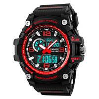 Наручные часы Skmei 1283 Black-Red, фото 1