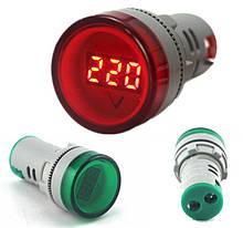 Цифровой Вольтметр AC 60-500 В Индикатор Напряжения Тестер