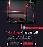 Магнітний Кабель Micro USB 2A Кутовий 90 градусів 360 про. для Зарядки на Неодимових Магнітних Засувках, фото 2