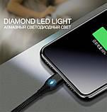 2 Метра Кабель iONCT 3A USB 3.0 Micro USB Магнитный Шнур для Быстрой Зарядки, фото 6