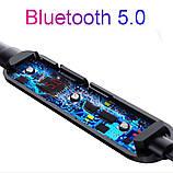 Беспроводные Bluetooth V5.0 HI-FI Наушники Nouvve Y12 SPORT Магнитные Гарнитура, фото 3
