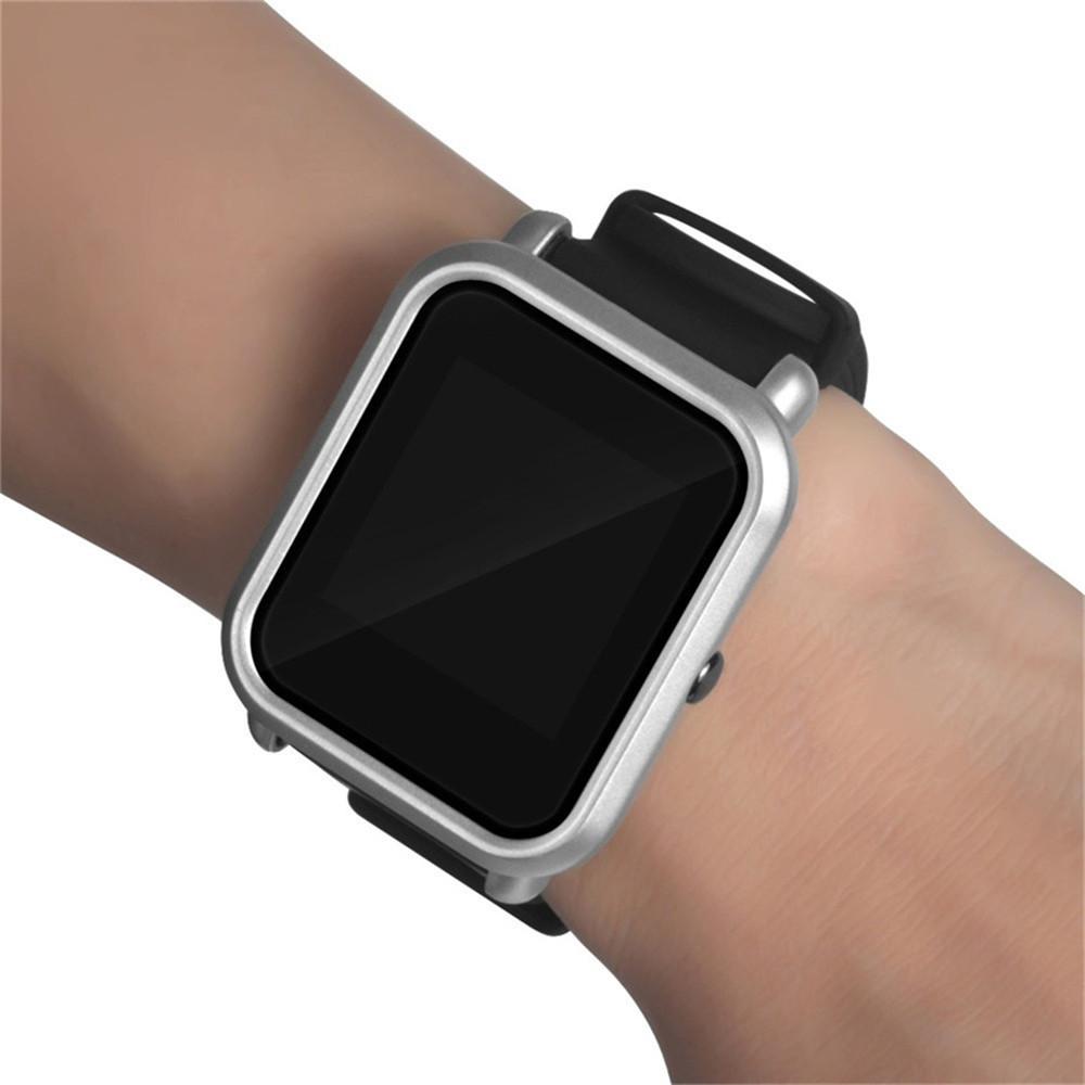 Amazfit Bip Защитный бампер для смарт часов, Platinum