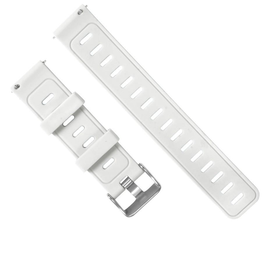 Ремешок для смарт часов Silicone bracelet Universal, 20 мм. White