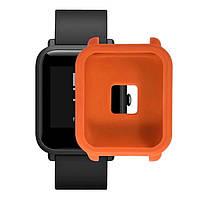 Amazfit Bip Защитный силиконовый чехол для смарт часов, Orange