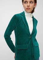 Класичний модний велюровий, оксамитовий костюм штани, піджак жіночий 42-74+батал, фото 1