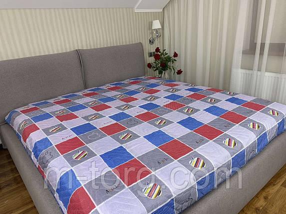 Стеганное летнее одеяло покрывало полуторный размер 145/210 см, фото 2