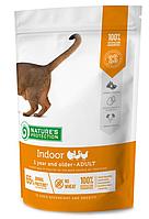 Nature's Protection Indoor Adult сухой корм для кошек всех пород