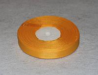 Лента репсовая тёмно-жёлтая 1,2 см 16753