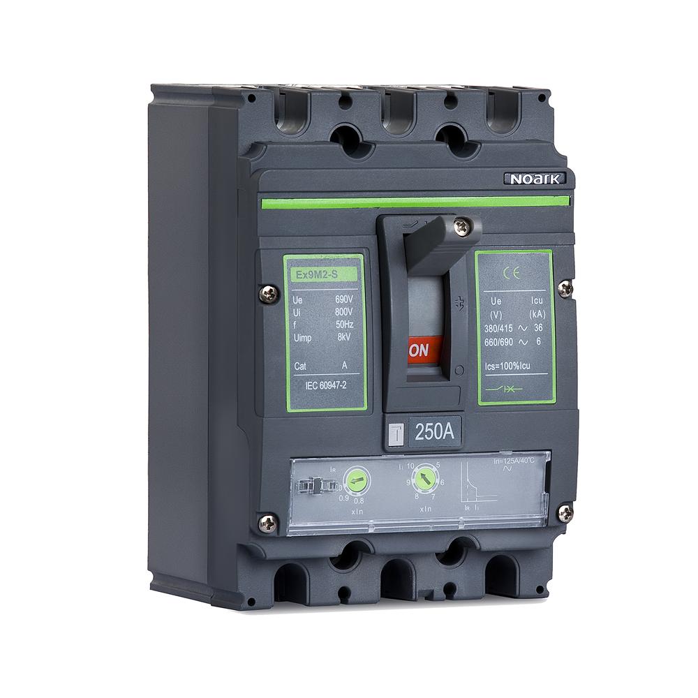 Корпусный автоматический выключатель нагрузки, серия Ex9M