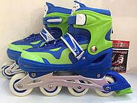 Детские роликовые коньки PROFI A 21109 L (38-41), синие