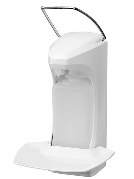 Диспенсер RX 5 M с лотком для капель и замком, белый