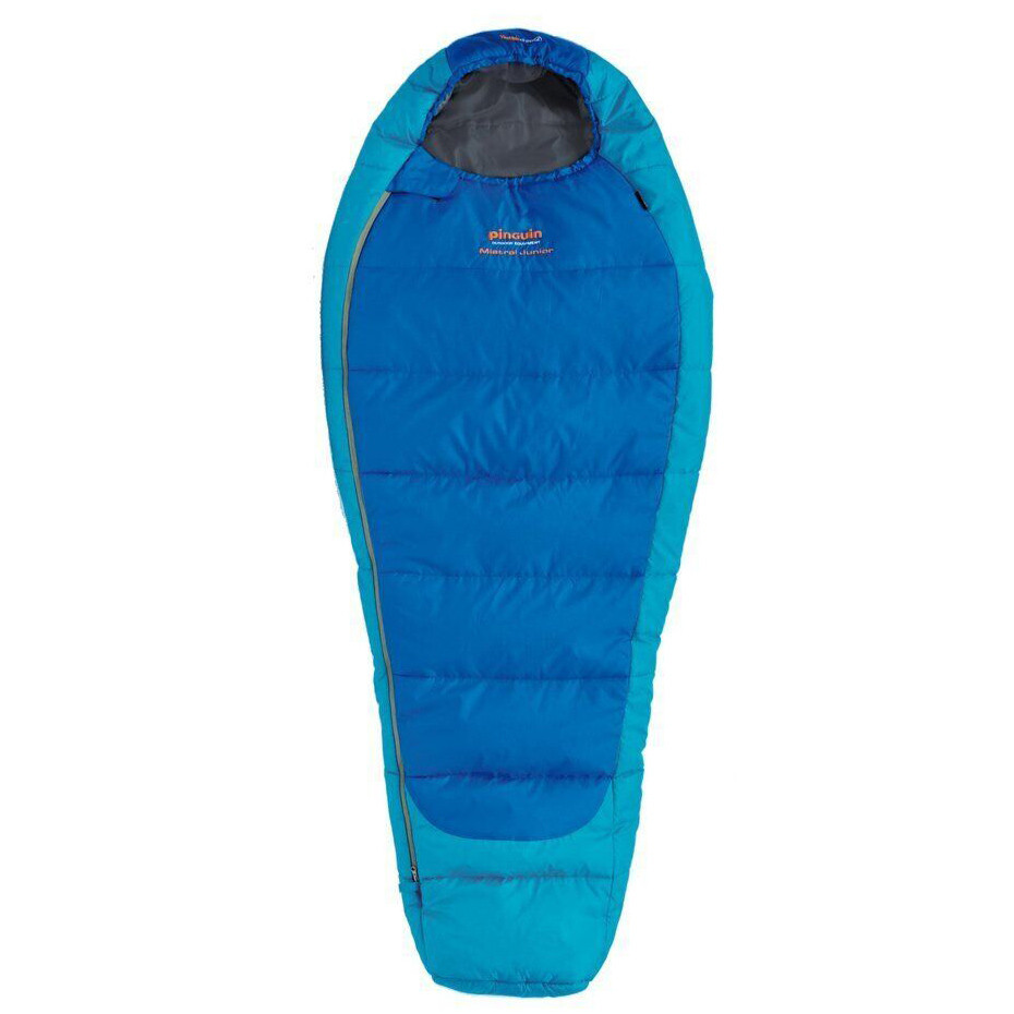 Спальний мішок Pinguin Mistral Junior 150 2020 Blue Left Zip