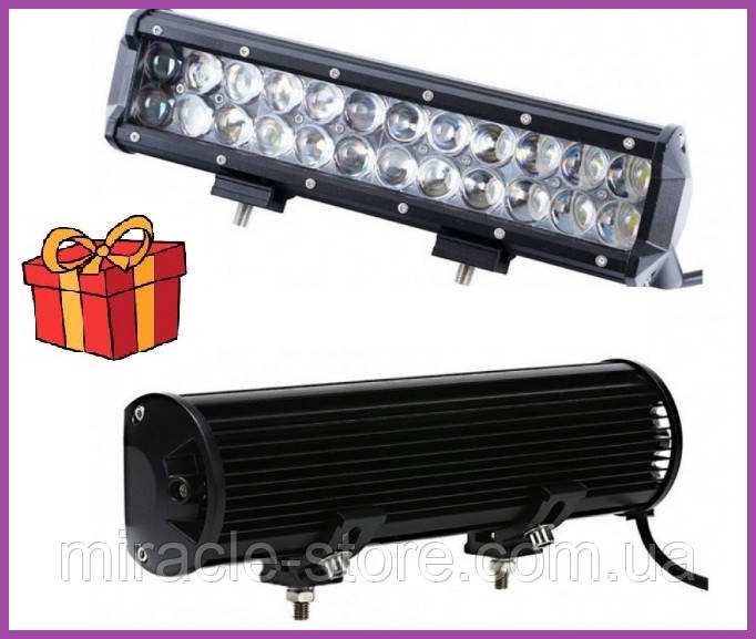 Автомобільний світлодіодний прожектор LED автофара на дах 72W,Автофара LED на дах
