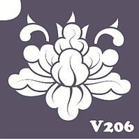 Трафарет № 206 - V