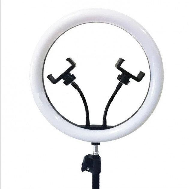 Лампа кольцевая Led 30см. на 2 держателя (1143)