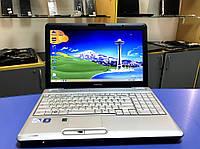 """Стильний та надійний ноутбук Toshiba Satellite L500 / Intel T4400 / DDR3-3Gb / Екран 15.6"""" ."""