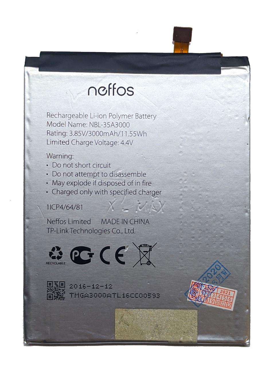 Аккумулятор Батарея для TP-Link Neffos X1 Max TP903A NBL-35A3000