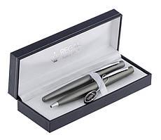 Набір ручок П+Р Regal чорний у футлярі L графіт (R80408.L.BF)