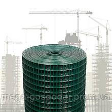Сварная сетка в ПВХ 25х25мм (25м)