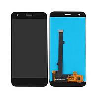 Дисплей (LCD) ZTE Blade A512 Z10 з тачскріном, чорний