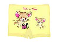 """Хлопковые трусики-шорты для девочек с Мышками, 10-11 лет, 146-152 см, """"Donella"""",Турция"""