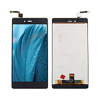 Дисплей (LCD) ZTE Nubia Z9 Max | NX510J | NX512J з тачскріном, чорний