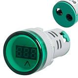Вольтметр індикатор AC60-500V, 60-500В 22мм на панель щита, фото 2