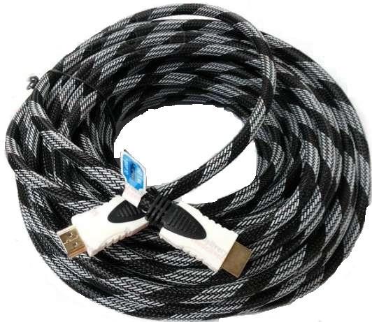 HDMI плоский кабель 3м Premium 1080P позолоченный