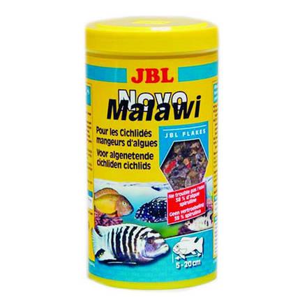 Основний корм JBL NovoMalawi для рослиноїдних цихлид, 1 л, фото 2
