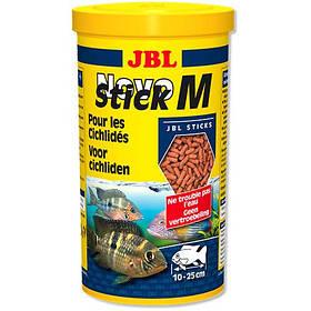 Основний корм JBL NovoStick M у формі паличок для хижих цихлид, 1 л