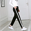 """Модные женские спортивные брюки с цветными лампасами """"Тринити"""", фото 2"""