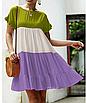 """Дуже круте літнє жіноче різнобарвне плаття великих розмірів """"Тріша"""", фото 6"""